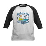 Bunny, Duck and Boat Kids Baseball Jersey