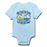 Bunny, Duck and Boat Infant Bodysuit