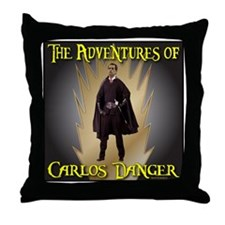 Carlos Danger Throw Pillow