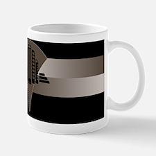 Black and Bronze Art Deco Tower Mug