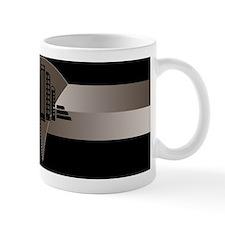 Black and Bronze Art Deco Tower Small Small Mug