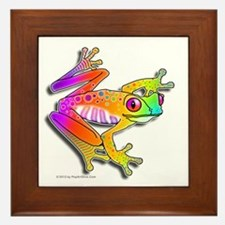Pop Art FROG Framed Tile