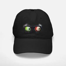 Look Out! Bloodshot Eyebal Glasses Baseball Hat