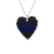 Police Diamond Plate Necklace