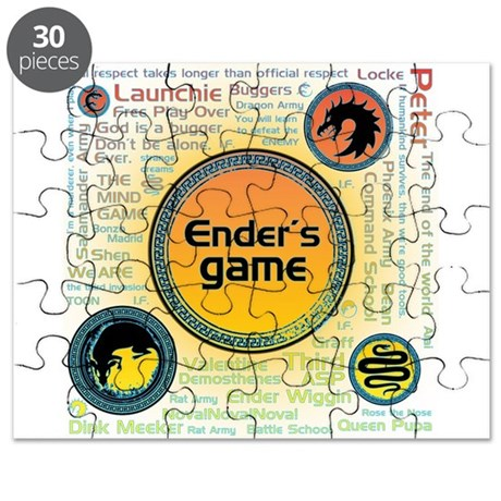 Multi Ender's Game Collection Puzzle
