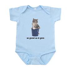 Tabby Cat Photo Infant Bodysuit