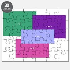 Aspect Ratio Color Blocks Puzzle