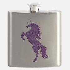 Purple Unicorn Flask