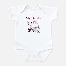 My Daddy Is A Pilot Infant Bodysuit