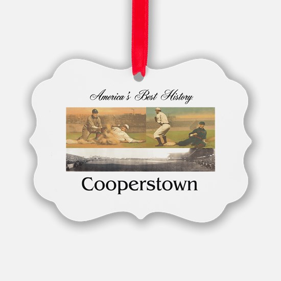 Cooperstown Americasbesthistory.c Ornament
