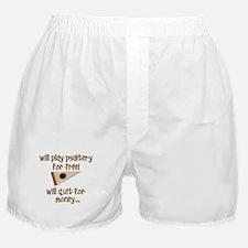 funny bowed psaltery Boxer Shorts
