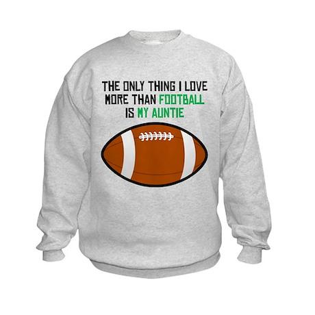 Football Auntie Sweatshirt