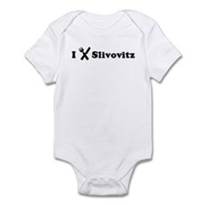 I Eat Slivovitz Infant Bodysuit