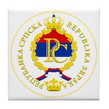 Srpska COA Tile Coaster