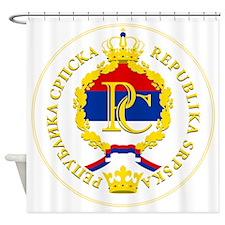 Srpska COA Shower Curtain