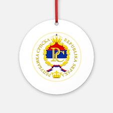 Srpska COA Round Ornament