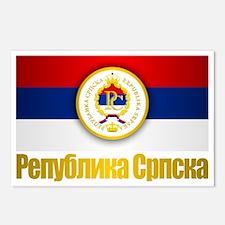 Srpska Flag Postcards (Package of 8)