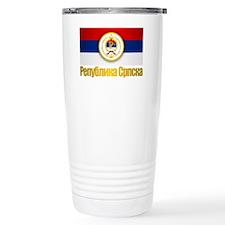 Srpska Flag Travel Mug
