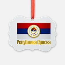 Srpska Flag Ornament