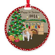 2014 Bulldogs 1St Christmas Ornament