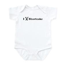 I Eat Shortcake Infant Bodysuit