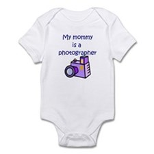 My Mommy Is A Photographer Infant Bodysuit