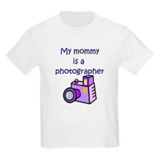 My Mommy Is A Photographer T-Shirt