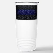 Police Diamond Plate Travel Mug