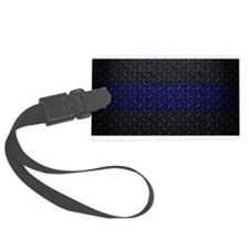 Police Diamond Plate Luggage Tag