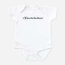 I Eat Sex On The Beach Infant Bodysuit