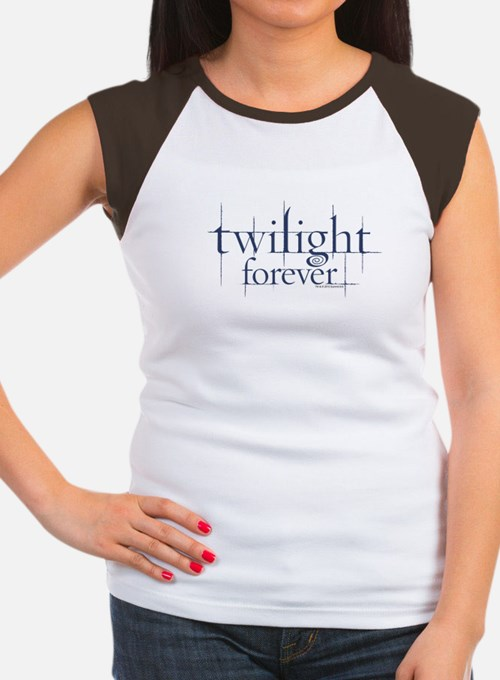 Twilight Forever Logo 1 Women's Cap Sleeve T-Shirt