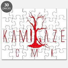 Kamikaze CMI Red Logo Raised Puzzle