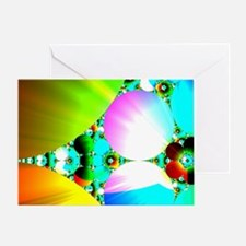 Crystal Sunrise King Duvet-8064wx691 Greeting Card