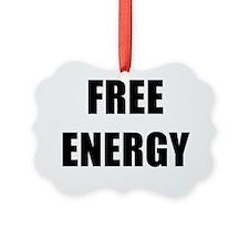 FREE ENERGY BK Ornament