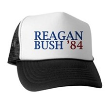 Reagan Bush '84 Trucker Hat
