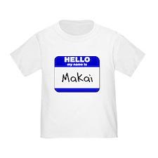 hello my name is makai T