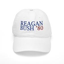 Reagan Bush '80 Baseball Cap