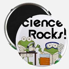Frogs Science Rocks Magnet