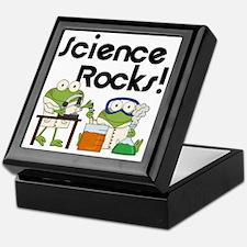 Frogs Science Rocks Keepsake Box