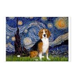 Starry Night & Beagle Postcards (Package of 8)