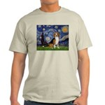 Starry Night & Beagle Light T-Shirt