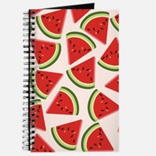Watermelon Pattern Flip Flops Journal