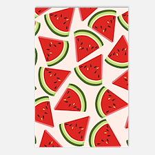 Watermelon Pattern Flip F Postcards (Package of 8)