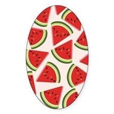 Watermelon Pattern Flip Flops Decal
