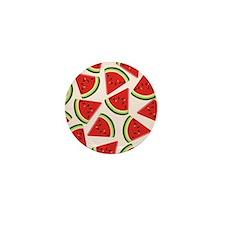 Watermelon Pattern Flip Flops Mini Button