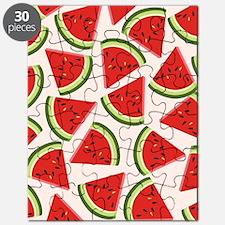 Watermelon Pattern Flip Flops Puzzle