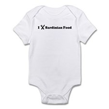 I Eat Sardinian Food Infant Bodysuit