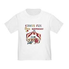 Circus Fun 5th Birthday T