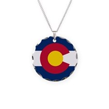 Flag of Colorado Necklace