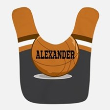 Stylish Custom Basketball Theme Bib